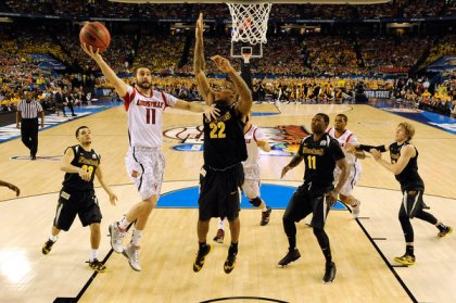 Louisville and Wichita State faced off in the Final Four a season ago. There is a possible Sweet Sixteen match-up looming.