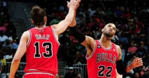 Noah and Gibson both had breakout years, will also most likely be the starting front-court moving forward.
