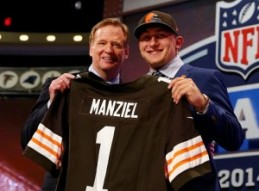 I don't want to jinks him but the Browns traded up for Brady Quinn to take him 22nd too...