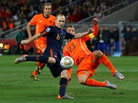 Spain and the Netherlands will face off in their first group play match, a rematch of the 2010 Final.