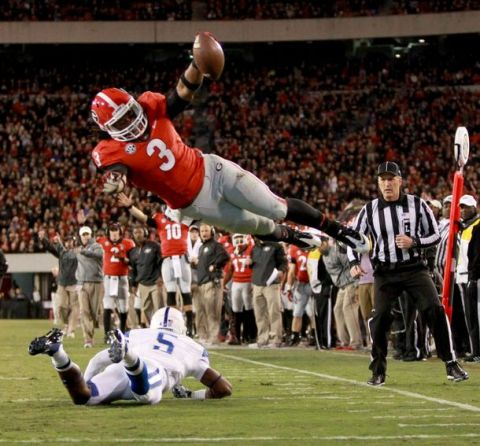 Todd Gurley is built to run through the SEC on his way to the Heisman this season.