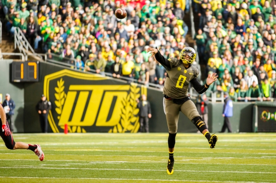 He's considered the best player in the Pac-12. I consider him the best player in College Football this season.
