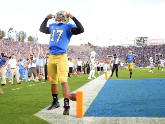 Can the highly rated Hundley bring  the unproven Bruins to the national spotlight?