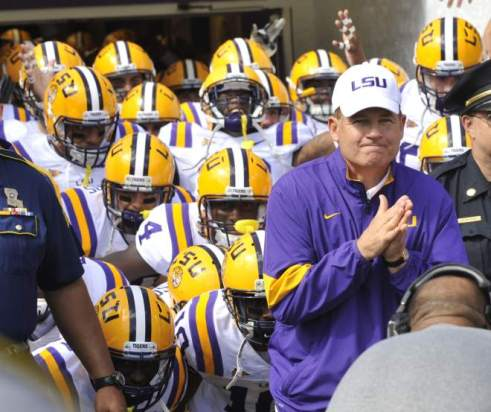 Les Miles will lead a young and talented team that could take the SEC and College Football by storm.