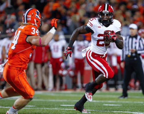 Coming off of a 1,609 yard and 12 TD season, Gordon is a Heisman favorite for the Badgers.