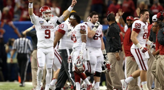 Trevor Knight (#9) revitalized the Sooners program, can he carry them to the playoffs in his second year at the helm?