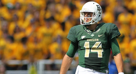 He's a top Heisman contender, and if he wins it, Baylor are probably sitting in the playoffs too.