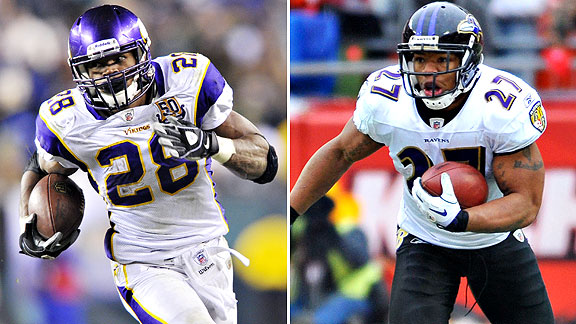Fallen Stars: once two of the top Running backs in the league, are now facing never playing in it again.