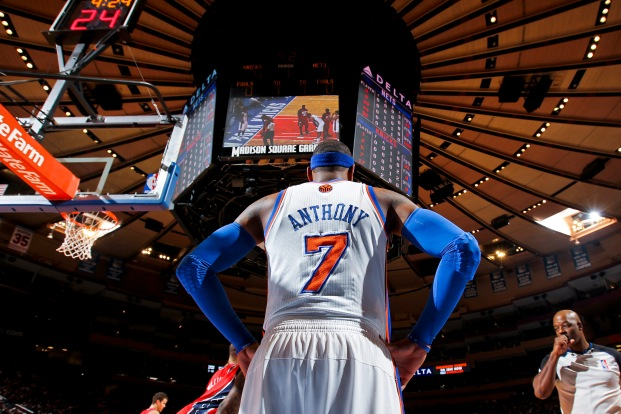 He took the cash instead of going elsewhere, but does Melo truly think he can win a ring in the Garden?
