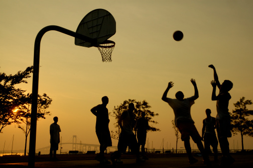 basketballsunset