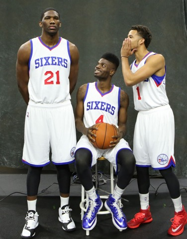 Take note: The Sixers have some of the best young talent in the league.