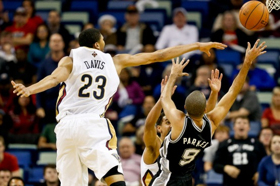 NBA: San Antonio Spurs at New Orleans Pelicans
