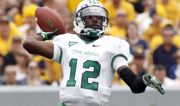 Rakeem Cato looks to end his record breaking career on a high note for the Herd.