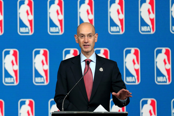 WATCH: Adam Silver Bans Donald Sterling for life.