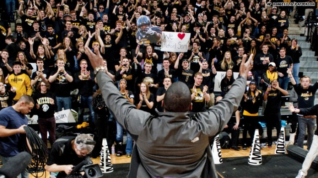 From beginning to end, his school, Mizzou stood behind him.