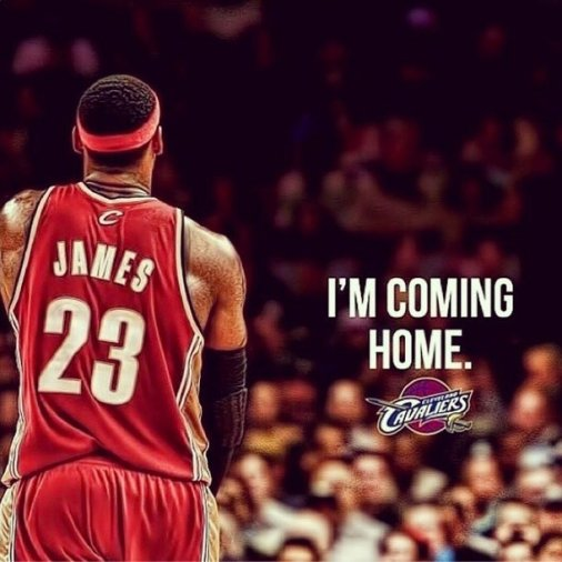LeBron soon followed up with a post of his own on Instagram.