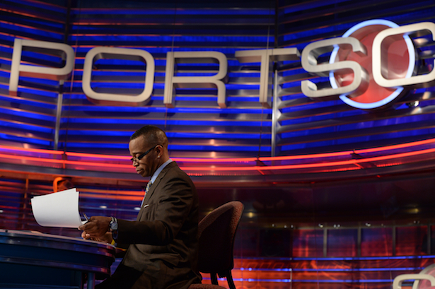 Stuart Scott - SportsCenter - April 10, 2013