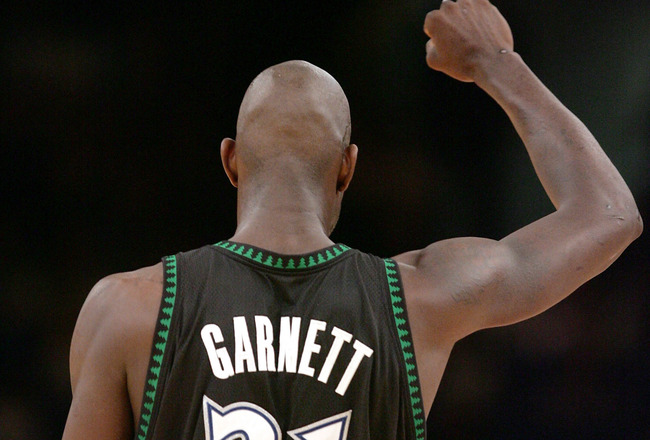Back where it all began: Kevin Garnett back in Minnesota to finish off his Hall of Fame career.