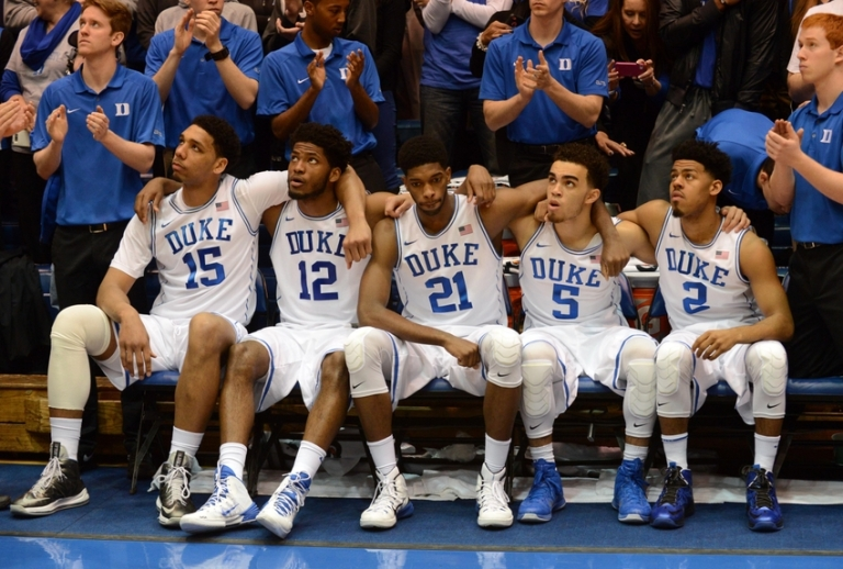 They lack depth, but Duke has a Championship-caliber starting five.