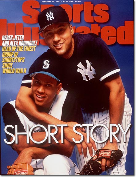 Derek Jeter, Alex Rodriguez, Shortstops February 24, 1997 x52191 Credit: Walter Iooss Jr.- contract
