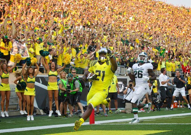 Your sleeper Heisman pick. (21) Royce Freeman is primed for a breakout year for the Ducks.